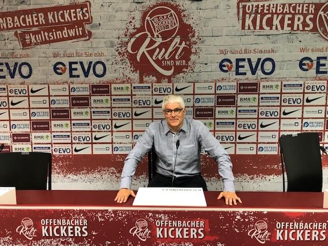 Lars Nierfeld bei Kickers Offenbach